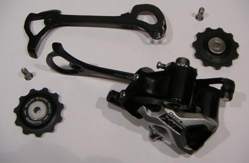 Cambio de la bicicleta. Montaje y mantenimiento Cambiodespiece