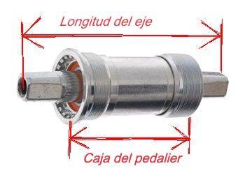 Tipos de ejes de pedalier