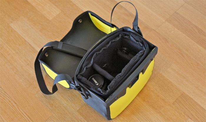f65ee1fd3a4 funda camara reflex para bolsa de manillar Ortlieb